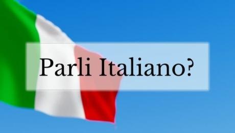 Parli Italiano? Si!